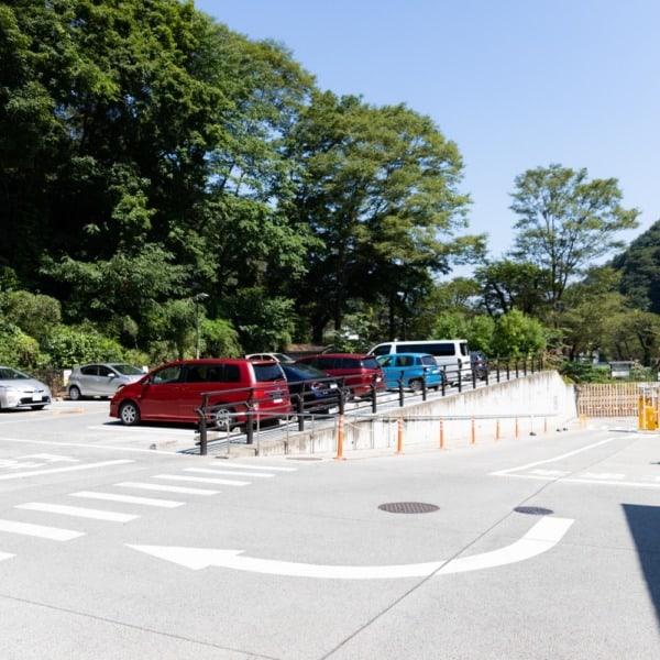 京王高尾山温泉 極楽湯駐車場