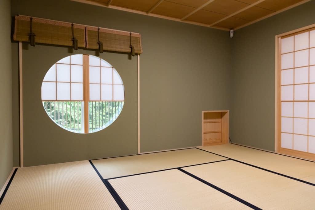 茶室「やまぶき庵」 内観