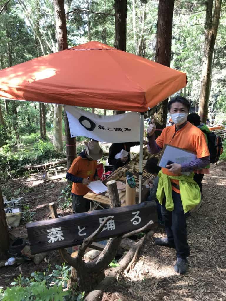 森と踊る株式会社 取締役 村上右次さん