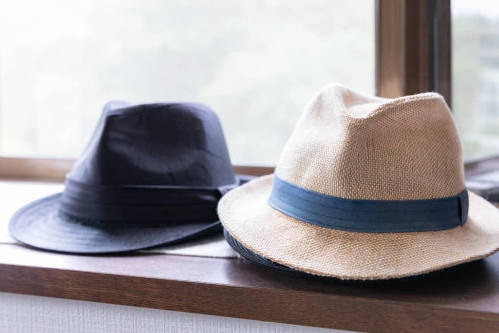 石川さんの帽子コレクション